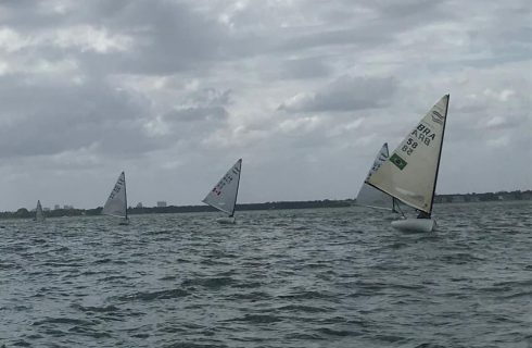 Finns Rally at the 2nd annual Miami Sailing Week