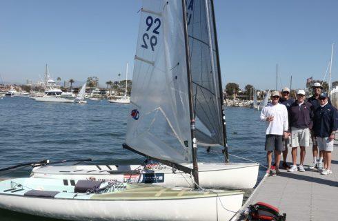 Newport Harbor Finn Fleet!