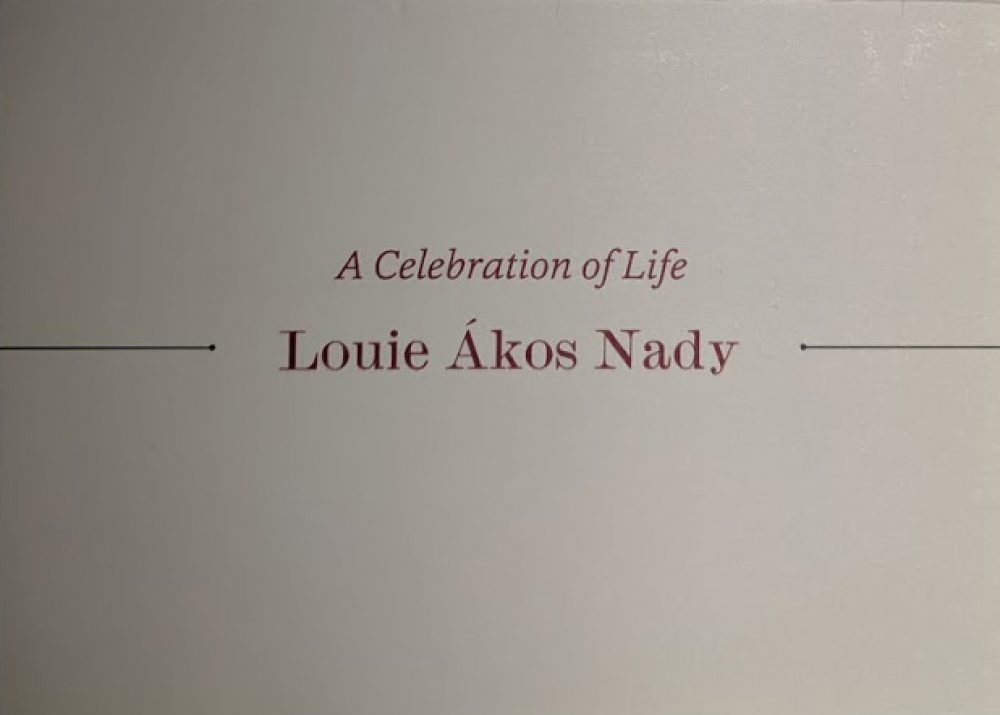 Louie Akos Nady Memorial