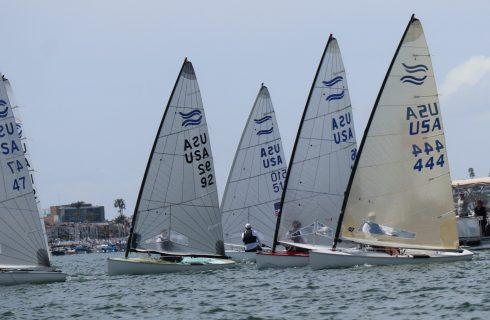 Finns Return to Newport Beach