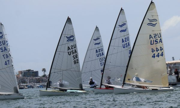 Finns Return to Newport Beach