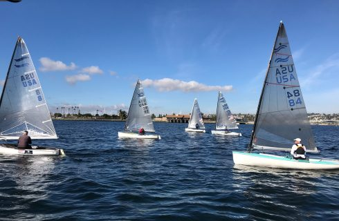 Finns Sail SDYC New Years Day Race